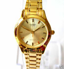 New Casio Gold Face Analog Ladies Gold Watch