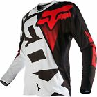 NEW 2016 FOX RACING 360 SHIV MX DIRTBIKE OFFROAD JERSEY BLACK/ WHITE ALL SIZES
