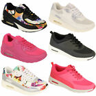 Ladies Trainers Womens Shoes Jogging Lace Up Running Sports Gym Mesh Casual New