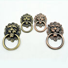 New Door Continental Vintage Lions Head Chest Drawers Knobs Bronze Pull Handles