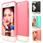 Hybrid Rugged Shockproof Rubber Hard Impact Case Cover For Apple iPhone 6 4.7""