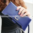 Fashion Sweet Bow Long Women Wallet Girl Card Lady Purse Multi-colored WFR