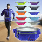 Mens Women Waterproof Running Belt Bum Waist Pouch Camping Sport Hiking Zip Bag