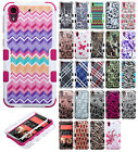 For HTC Desire 626 IMPACT TUFF HYBRID Protector Case Skin Phone Cover Accessory