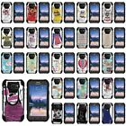 Case For Samsung Galaxy S6 Active Y Stand Shell Black Cover Hybrid Camo  Dual