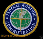 RARE FEDERAL AVIATION ADMINISTRATION FAA PATCH AIR PLANE AVIATION PIN UP AIRLINE