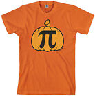 Threadrock Men's Pumpkin Pi T-shirt Geek Funny Halloween Nerd