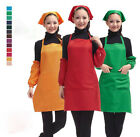 Set Of Woman Apron With Scarf Cuff Cooking Baking Household Restaurant Waitress