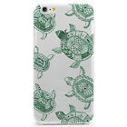 TPU Case for iPhone 6 Plus - Tribal Sea Turtles Pattern