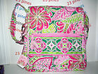 VERA BRADLEY *READ ALL YELLOW BIRD HAS DEFECT*  CHOICE 1 OLDER STYLE MAILBAG NWT