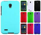 For Alcatel OneTouch Conquest HARD Rubberized Case Phone Cover + Screen Guard
