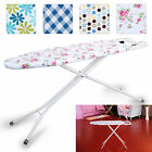 Adjustable Highlands Deluxe Wide Metal Ironing Board Iron Rack 10step Height New