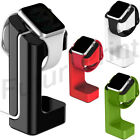 STAND DOCK STATION AW-STD002 PER APPLE WATCH 38mm/42mm IN PLASTICA CON GOMMINI
