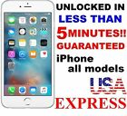 PREMIUM SPEED FACTORY UNLOCK SERVICE - AT T - APPLE IPHONE 6S 6+ 6 5S 5C 5 4S 4