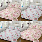 Linens Limited Moygashel Butterfly Reversible Duvet Cover Set