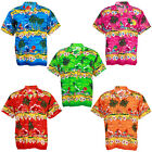 Hawaiian Aloha Shirt Coconut Beach Boat Ship Sea S variation au ham248