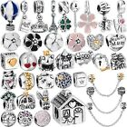 European Silver Charms pendant Bead For Sterling Silver Necklace Bracelet