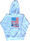 USA New York Graphic Ladies Hoodie Sweatshirt