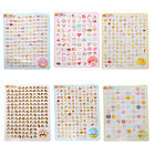 2 Sheet Cute Mini Sticker Planner Diary Notebook Decoration Stationery 6 Styles