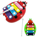 Cute Baby Child Kid 5-Note Xylophone Musical Toys Wisdom Development Beetle