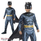FANCY DRESS COSTUME ~ BOYS DC COMIC BOOK CLASSIC BATMAN AGES 3-10 YEARS