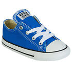 Children Boys Converse Chuck Taylor Ox Lo Trainers In Blue From Get The Label