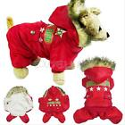 Dog Puppy Thick Warm Pet Clothes Apparel Hoodie Jumpsuit Coat Pants for Winter
