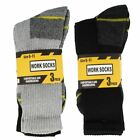 Mens Work Socks Pack of 3 Style-40B184/4