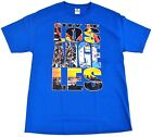 LOS ANGELES T-shirt LA City Of Angels Dodgers Lakers Kings Adult S-2XL Blue New