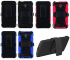 NP ARMOR Good Quality Phone Case + Holster Belt Clip For ALCATEL Phone model
