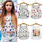 Sexy Women Fashion Summer Vest Tank Tops Girls Digital 3D Print T Shirt