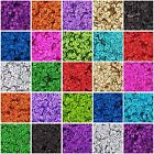 Внешний вид - LOOSE CUP SEQUINS - HOLOGRAPHIC - 720/PACK - 4MM & 6MM 24 COLORS - THREADART