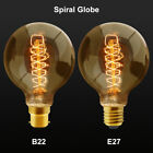 B22 Bayonet or E27 Edison Vintage Light Bulbs Filament Style Squirrel Cage