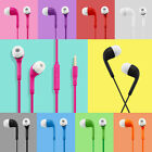 3.5mm In-Ear Headset Earphone Control & Mic for Samsung Galaxy S4 S5 S6 Note