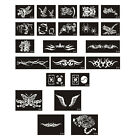 TA22 1 Sheet, 10 Sheets Body Art Tattoo Stencil Series-No.B01-B23