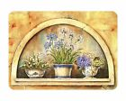 Tuftop Glass Chopping Board Window Flower Herbs Kitchen Worktop Saver Protector