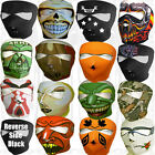Motorcycle Snowmobile Ski Painball Jeep Full Face Mask Men Women OOH Bikers