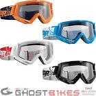 Thor Conquer Motocross Goggles Dirt Bike Anti-Fog Scratch Resistant CE Approved