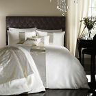 Catherine Lansfield Glamour Sequin Gold Cream Duvet Quilt Cover Bedding Set