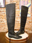 Vince Camuto Danessa Black Leather OTK Over the Knee Riding Boots New