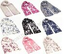 New Fashion Women Ladies Butterfly Print Large Soft Scarf Shawl Wrap 10 Colours*