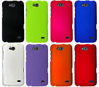 For ZTE Maven Z812 Rubberized Hard Protector Case Snap Phone Cover Accessory