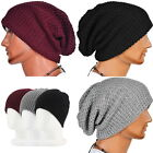 Chic Men Women Warm Winter Knit Hat Ski Beanie Skull Slouchy Oversize Cap Unisex