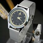 Hot Fashion Casual Luxury Men's Women's Stainless Steel Band Quartz Wrist Watch