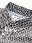 Ben Sherman Mens L/Sleeve Mini Twill Check Casual Shirt BNWT RRP £60 Jet Black