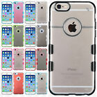 For iPhone 6 6S TUFF PC TPU Fused Case Skin Phone Covers Accessory +Screen Guard