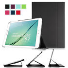Smart Book Cover Stand Case For Samsung Galaxy Tab S2 9.7 T815 T810 Wake / Sleep