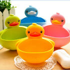 Plastic Duck Suction Cup Bathroom Accessory Shower Soap Toothbrush Holder WI15