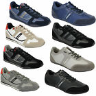 Mens Trainers Lambretta Shoes Sneakers Lace Up Suede Look Jogging Running Sports