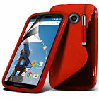 S Line Wave Gel Silicone Case Cover For Motorola Nexus 6